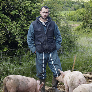 Charles COMPAN - Ferme du Serrelis - Éleveur de porcs à St Felix de L'Heras