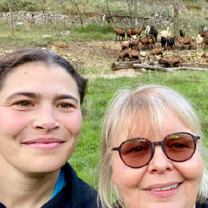 Rens VAN DOORNE - Pélardons de Pégairolles - Eleveuse de chèvres à Pégairolles de l'Escalette