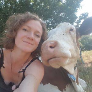 Juliette BOUGEAULT - Ferme du Causse - Eleveuse de vaches laitières au Caylar